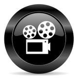 Película icon Foto de archivo