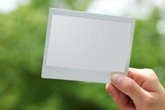Película inmediata plana del PDA Imagen de archivo