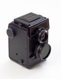 Película media del formato de la vendimia de la cámara Imágenes de archivo libres de regalías