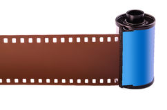 película negativa de 35 milímetros Imagen de archivo