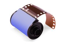 película negativa de 35 milímetros Imagen de archivo libre de regalías