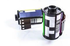 película negativa de 35 milímetros - rollo de la película de la cámara Foto de archivo libre de regalías