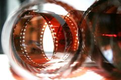 Película negativa fotográfica Imagem de Stock Royalty Free