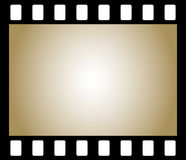 Película negativa velha da foto Foto de Stock
