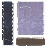 Película negativa vieja Fotos de archivo libres de regalías