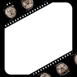 Película no fundo do grunge Imagens de Stock Royalty Free