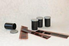 Película para la cámara Foto de archivo libre de regalías