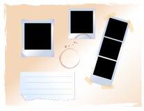 Película polaroid Imágenes de archivo libres de regalías