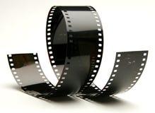 Película rizada Imágenes de archivo libres de regalías