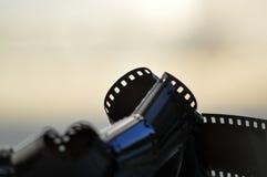 Película sin procesar vieja fotos de archivo libres de regalías
