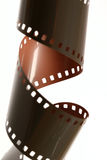 Película torcida de 35m m Fotos de archivo libres de regalías