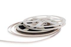 Película velha do cinema 16 milímetros Imagem de Stock Royalty Free