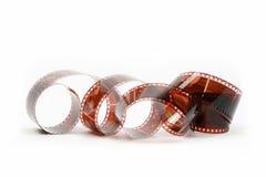 Película vieja, aislada Fotos de archivo