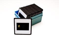 Películas de las diapositivas Foto de archivo libre de regalías
