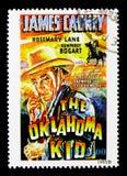 Películas, el niño de Oklahoma, serie de los carteles de la película, circa 199 Fotos de archivo libres de regalías