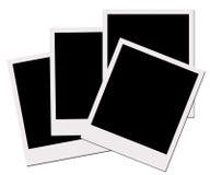 Películas polaroid (con el camino de recortes) Fotos de archivo