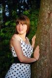 Pela árvore Imagem de Stock Royalty Free
