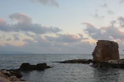 Pela baía Fotografia de Stock