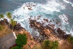 Pela opinião do mar Foto de Stock Royalty Free