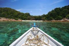 Pela praia Imagem de Stock Royalty Free