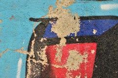 Peladura de la pintada colorida Imágenes de archivo libres de regalías