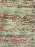 Peladura del fondo de madera de la pintura La superficie de la pared de madera vieja fotografía de archivo libre de regalías