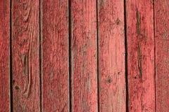 Peladura roja del granero de la textura Foto de archivo libre de regalías