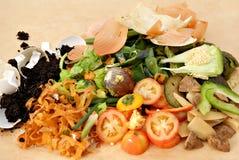 Peladuras del estiércol vegetal Imagen de archivo libre de regalías