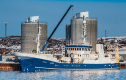 Pelagic fishing vessel Stock Photo