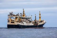 Pelagic Fishing Vessel. Polar Amaroq GR 18-49 with home port in Tasiilaq in Greenland sailing in Icelandic waters Stock Photo