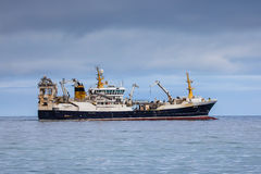 Pelagic Fishing Vessel. Polar Amaroq GR 18-49 with home port in Tasiilaq in Greenland sailing in Icelandic waters Royalty Free Stock Photo