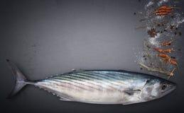 Pelamida на таблице Стоковая Фотография RF