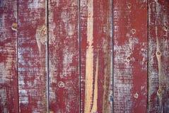 Pelando la pintura roja - oeste salvaje Imágenes de archivo libres de regalías