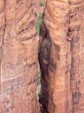 Pelare i kanjon Arkivfoton
