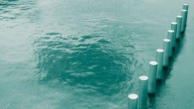 Pelare i vatten Royaltyfria Bilder