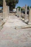 Pelare och mosaik arkivbild