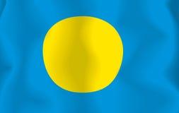 Pelau Flag Stock Photo