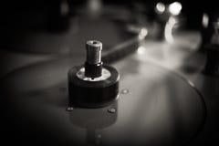 Película blanco y negro borrosa que corrige la placa del carrete Fotos de archivo libres de regalías