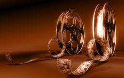 Película del cine Foto de archivo