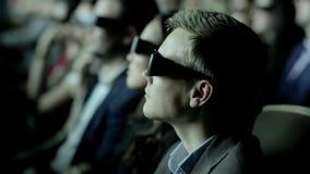 Película del reloj 3D de la gente metrajes