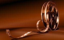 Película do cinema Foto de Stock Royalty Free