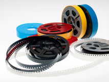 película dos carretéis de s 8mm Fotografia de Stock Royalty Free