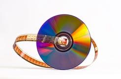 Película - DVD Fotografía de archivo libre de regalías
