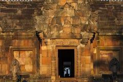 Peldaño de Prasat Hin Phanom Imagen de archivo