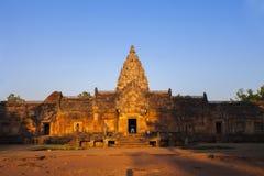Peldaño de Prasat Hin Phanom Imagenes de archivo
