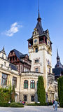 Pele� Castle. Transylvania, Romania. Stock Photos
