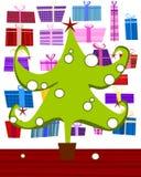 Pele-árvore verde Imagem de Stock