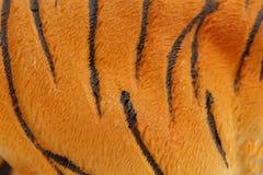 Pele artificial do tigre. Imagens de Stock