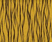 Pele curta shaggy do tigre Fotos de Stock