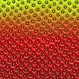 Pele da morango Imagens de Stock